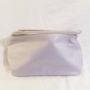 Lancome Makeup Cosmetic Case Bag Shimmer